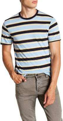 Public Opinion Striped Ringer Shirt