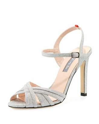 Sarah Jessica Parker Cadence Sparkle Glitter Sandal
