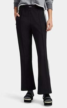Moncler Women's Metallic-Striped Crop Flare Pants