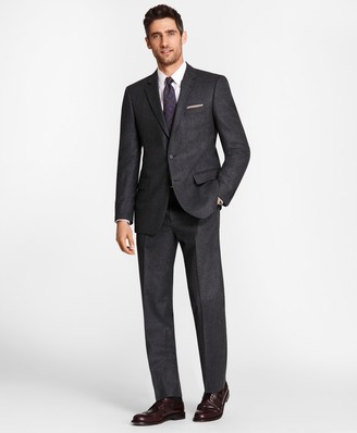 Brooks Brothers Madison Fit Stretch Flannel 1818 Suit