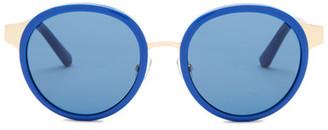 Tory Burch Women&s Round Sunglasses $250 thestylecure.com