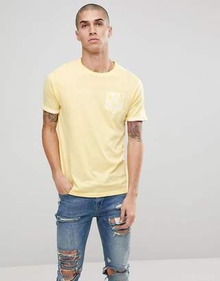 Brave Soul Palm Tree Pocket T-Shirt