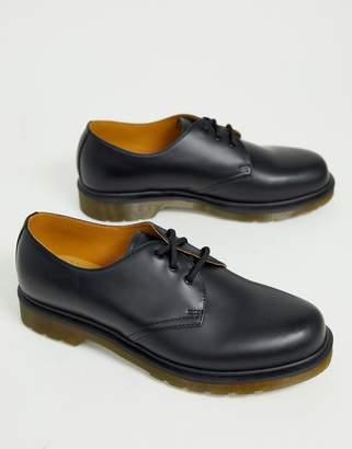 Dr. Martens (ドクターマーチン) - Dr Martens 1461 PW 3-Eye Shoes In Black