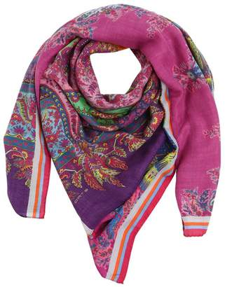 Etro Bombay Printed Cashmere & Silk Scarf