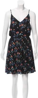 Rebecca Minkoff Printed Pleated Dress w/ Tags