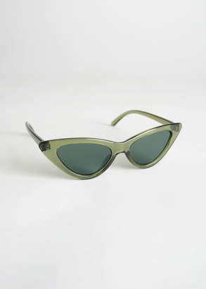 And other stories Rounded Cat Eye Sunglasses