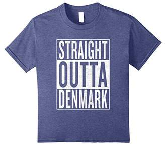 IDEA Straight Outta Denmark Great Travel & Gift T-Shirt