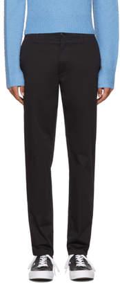 Acne Studios Black Ayan Satin Trousers