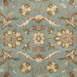 Blue Area Charlton Home Cranmore Hand-Woven Wool Rug