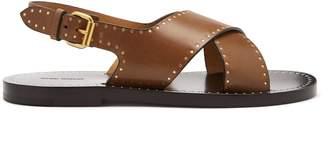 Isabel Marant Jane embellished leather sandals