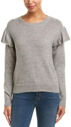 Nation Ltd. Delaney Ruffle Alpaca-Blend Sweater