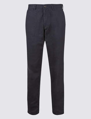 M&S CollectionMarks and Spencer Regular Fit Pure Cotton Chinos