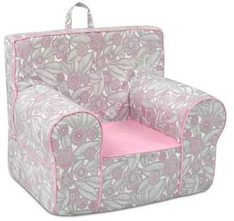 Co Kangaroo Trading Grab-n-go Kid's Foam Chair with handle - Tribal Pebbles with Bubblegum