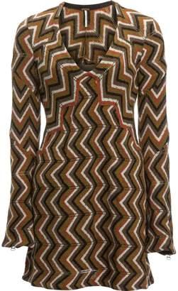 Free People Rhiannon Chevron Sweater Dress - Women's