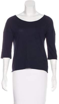 Chinti and Parker Three-Quarter Sleeve Knit Top