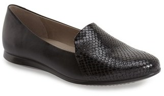ECCO 'Touch 2.0' Snake Embossed Flat (Women) $129.95 thestylecure.com