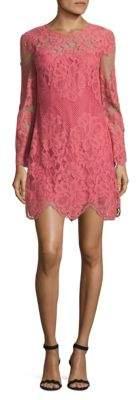 Donna Morgan Lace Shift Dress