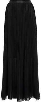 By Malene Birger Lallah Pleated Chiffon Maxi Skirt