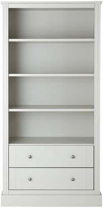 Consort Furniture Limited Dover Large Ready Assembled Bookcase - Grey