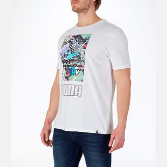 Puma Men's Shoes Photoprint T-Shirt
