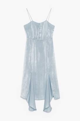 Genuine People Asymmetric Midi Dress