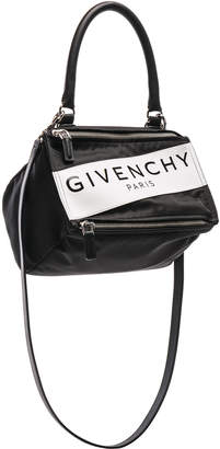Givenchy Paris Nylon Small Pandora Bag in Black | FWRD