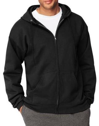 Hanes Men's Ultimate Cotton Heavyweight Fleece Full Zip Hood