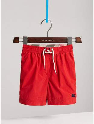 Burberry Lightweight Swim Shorts , Size: 12Y, Red