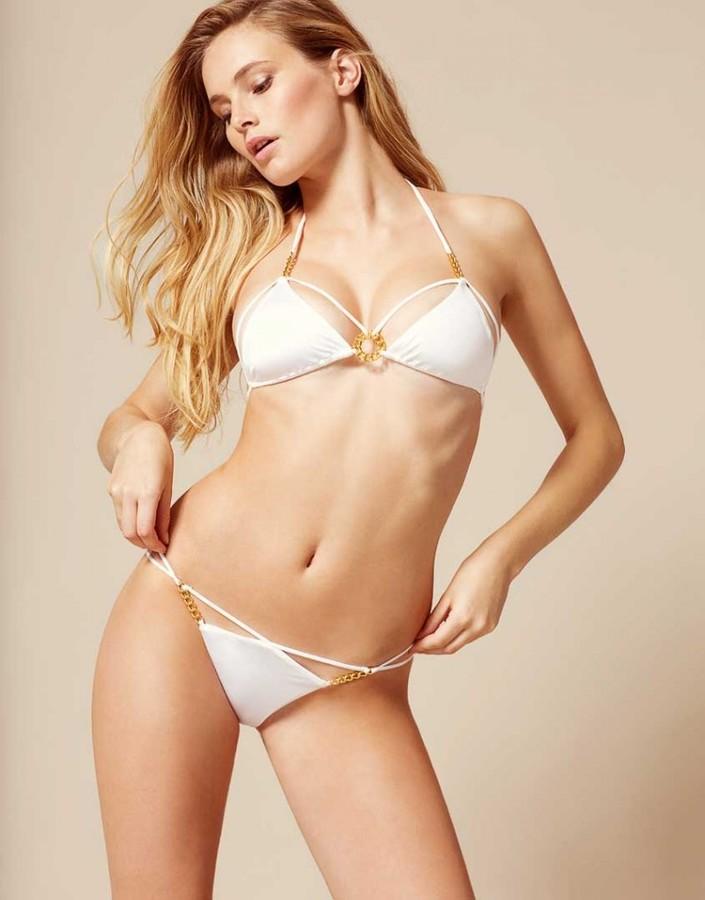 CeeCee Bikini Top White