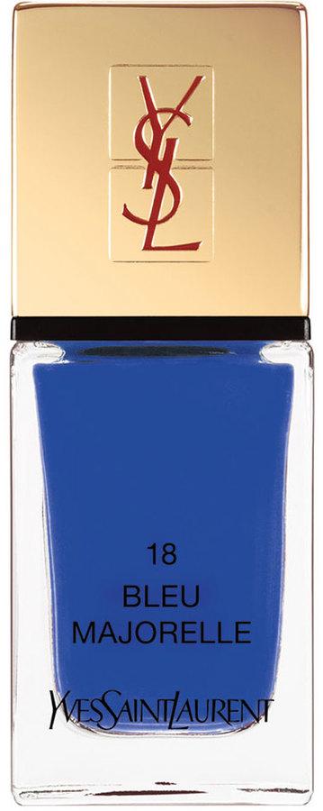 Saint Laurent La Laque No18 Bleu Majorelle