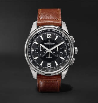 Jaeger-LeCoultre Polaris Chronograph 42mm Stainless Steel And Leather Watch
