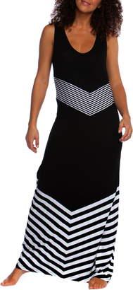 La Blanca Fine Line Cover Up Maxi Dress