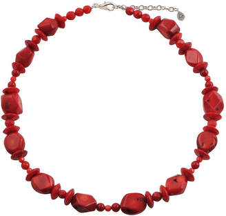 Artsmith BY BARSE By Barse Womens Red Beaded Necklace