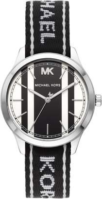 MICHAEL Michael Kors Runway NATO Strap Watch, 38mm