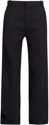 Raey Boyfriend twill trousers