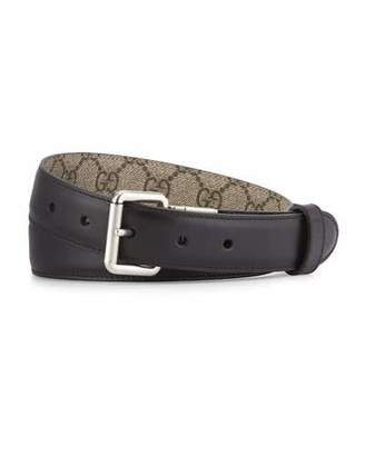 Gucci RED/EBONY REVERSIBLE BELT $345 thestylecure.com