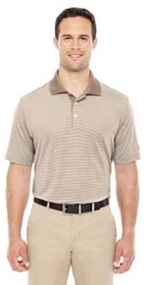 adidas Men's climalite Classic Stripe Short-Sleeve Polo - SHORE/ ECRU - L A119
