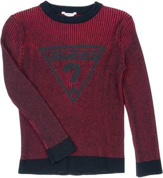 GUESS Boy's Stripe Logo Sweater