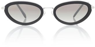 Miu Miu Delice oval sunglasses