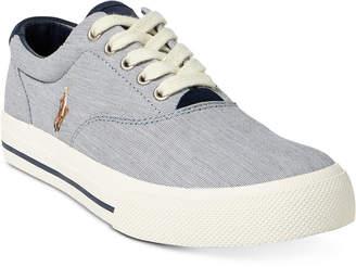 Polo Ralph Lauren Men's Vaughn Pinstripe Sneakers Men's Shoes