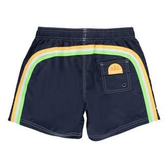 Sundek Uni Bande Three-Coloured Swim Shorts