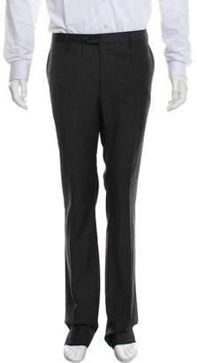 Lanvin Wool Straight-Leg Pants