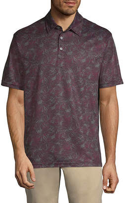 Haggar Short Sleeve Knit Polo Shirt Big and Tall