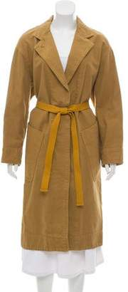 Etoile Isabel Marant Notched Lapel Button-Up Coat