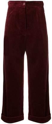 Aspesi wide-leg corduroy trousers