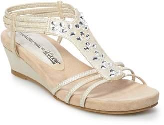 Croft & Barrow Studio Women's Ortholite Wedge Sandals