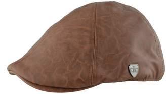 Angela & William Leather Feel Ivy Newsboy Duckbill Cap Hat