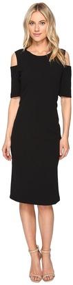 Christin Michaels - Lexington Cold Shoulder Dress Women's Dress $74 thestylecure.com