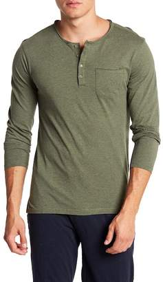 Unsimply Stitched Long Sleeve Pocket Tee