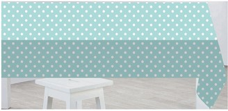 Sabichi Duck Egg Polka Dot PVC Tablecloth